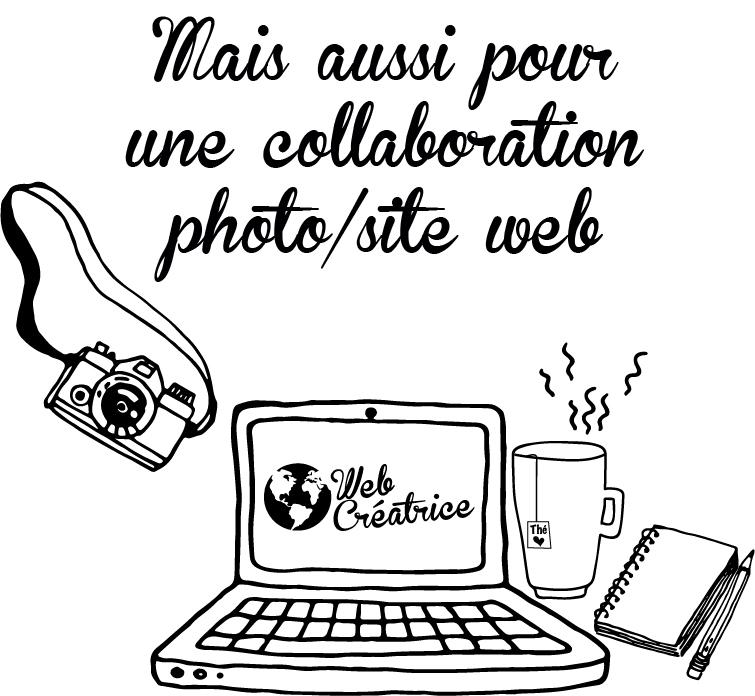 Mais aussi pour une collaboration photo/site web